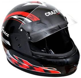 Crazy Full Face Helmet Multicolor (1 Piece)
