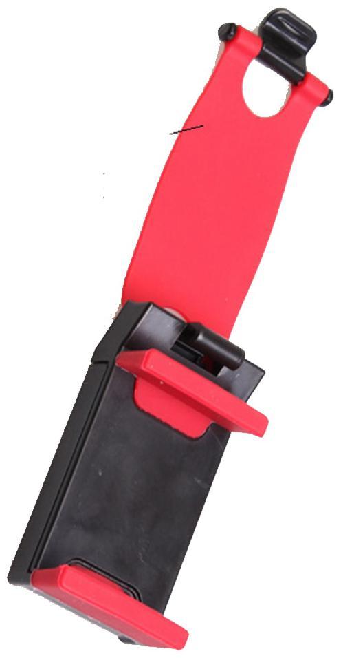 CHG Car Mobile Holder   Premium Universal Car Socketand Mobile Holder for Car Dashboard  Car Windshield  Red