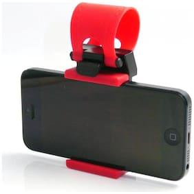 CHG Car Phone Socket Holder  Universal Adjustable Car Cell Phone Holder Cradle Stand Car Rack Handlebar Smartphone (Red)