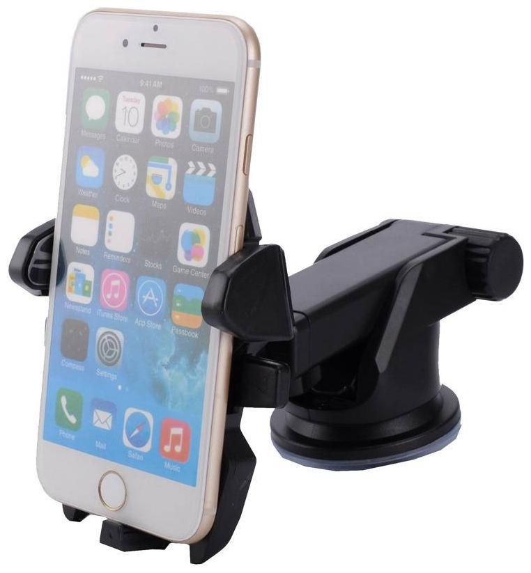 CHG Long Neck One Touch Car Dashboard/Glass Mount Phone Mobile HolderFor Fiat by Bansal Trading
