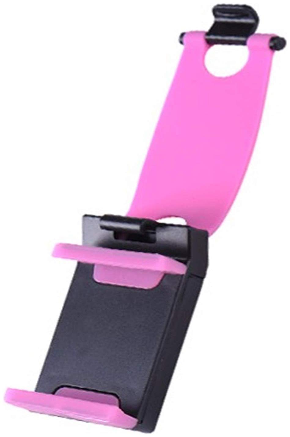 CHG Car Phone Socket Holder  Universal Adjustable Car Cell Phone Holder Cradle Stand Car  Pink