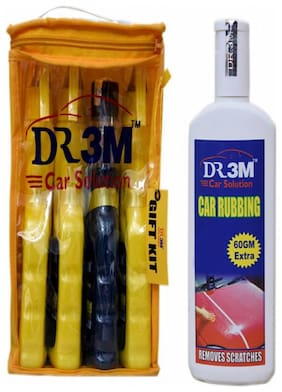 DASHBOARD DRESSER 250mL+ TYRE DRESSER 250mL.+LEATHER POLISH 250ml.+CAR GLASS CLEANER 250ml.+CAR RUBBING 200g(60g Extra)