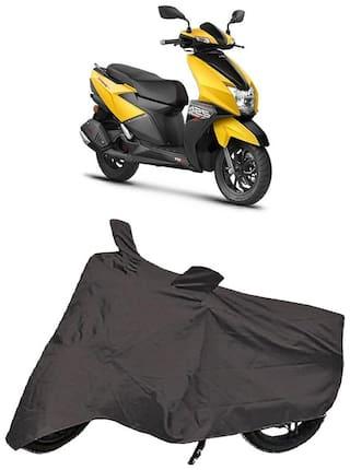 De-Autocare Premium Quality Grey Matty Scooty Body Cover for TVS NTORQ 125