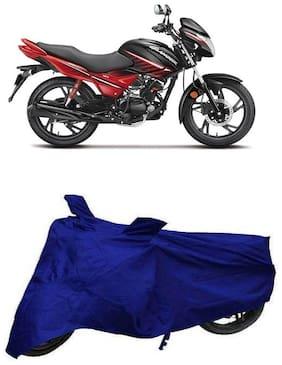De-Autocare Premium Quality Royal Blue Matty Bike Body Cover for Hero Glamour 125