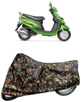 De-Autocare Premium Quality Multi Matty Scooty Body Cover for Mahindra Rodeo RZ
