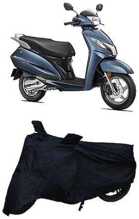 De-Autocare Premium Quality Black Matty Two Wheeler Bike Body Cover For Honda Activa 125