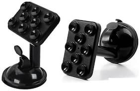 De-TechInn Pack of 2 Universal Car Holder Mobile Phones 360 deg Spider Holder Stand Car Mount For Smart Phones