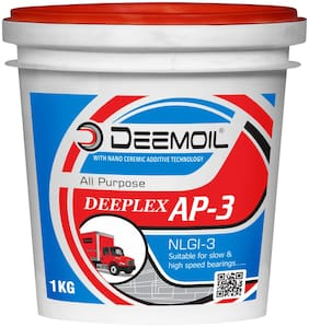 DEEMOIL DEEPLEX AP-3 NLGI-3 Calcium Based Grease for All Types of Vehicles and Machines (1 KG)