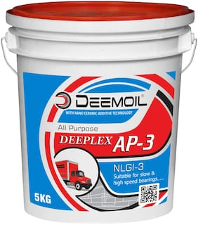 DEEMOIL DEEPLEX AP-3 NLGI-3 Calcium Based Grease for All Types of Vehicles and Machines (5 KG)