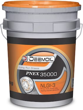 DEEMOIL PNEX LONG RUN GREASE-35000* NLGI-3 Calcium Lithium Based for All Types of Vehicles and Machines (10 KG)