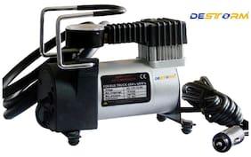 Destorm DS-6354 Air Compressor Pump Tire Inflator 12v Electric Car Bike Suv Metal