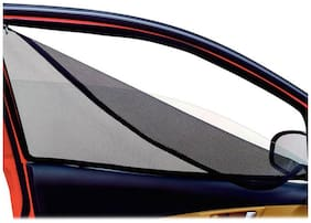 Hi Art Car Magnetic Window Sun Shades With Zipper For Maruti Alto K10 (4 pc.)