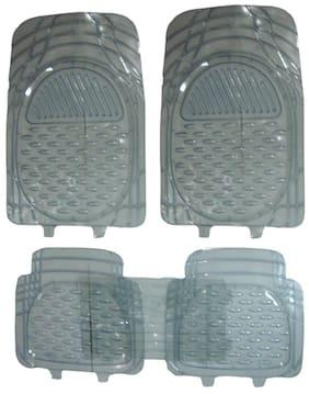 Hi Art Car Foot Mat Premium Transparent For Toyota Innova 7-Seater (5 Pcs)