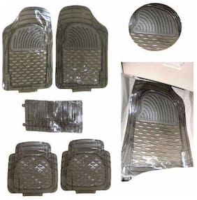 Hi Art Car Foot Mat Smoke Transparent For Volkswagen Vento