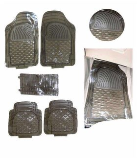 Hi Art Car Foot Mat Smoke Transparent For Maruti Celerio