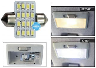 Digitru - Car Dome LED Roof Interior Light with Dual Connectors (16 SMD)