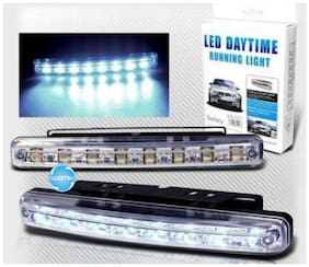 Auto Ryde Daytime LED Light (2 pc X 8 Led Drl )