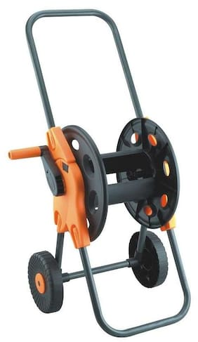 Dolphy Portable Garden Water Hose Reel Cart with wheels