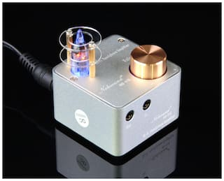 Douk Audio Mini Vacuum Tube Headphone Amplifier Class A Home Stereo HiFi Preamp