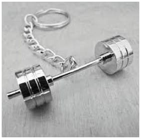 DUMBBELL KEYCHAIN IN METAL(ASSORTED)