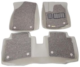 Eagle-Luxury Custom Fit 5D with Grass Car Floor Mats For Mahindra-Scorpio Getaway