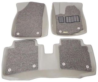 Eagle-Luxury Custom Fit 5D with Grass Car Floor Mats For Hyundai-i20 Old