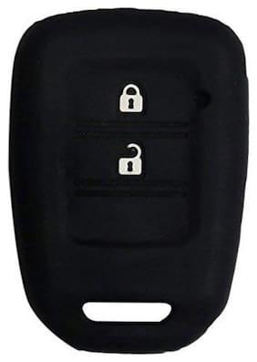 ElectriBles Silicone Remote Key Cover for Honda City/Civic/Jazz/Mobileo/Amaze/CRV/Brio (Old)