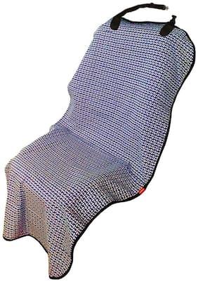 Elegant Blue Bone Dog Front Seat Protector For Hindustan Ambassodor