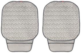 Elegant Caper CoolPad Car Seat Cushion Grey For Maruti Eeco 5 Seater (Set of 2)