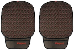 Elegant Caper CoolPad Car Seat Cushion Black Red For Ford Eco Sport (Set of 2)