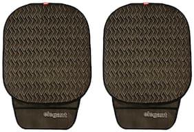 Elegant Caper CoolPad Car Seat Cushion Black Grey For Maruti Suzuki Swift [2011-2017] (Set of 2)
