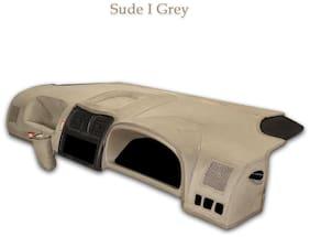 Elegant Suede I-Grey Car Dashboard Cover for Maruti Suzuki WagonR [2013-2017]