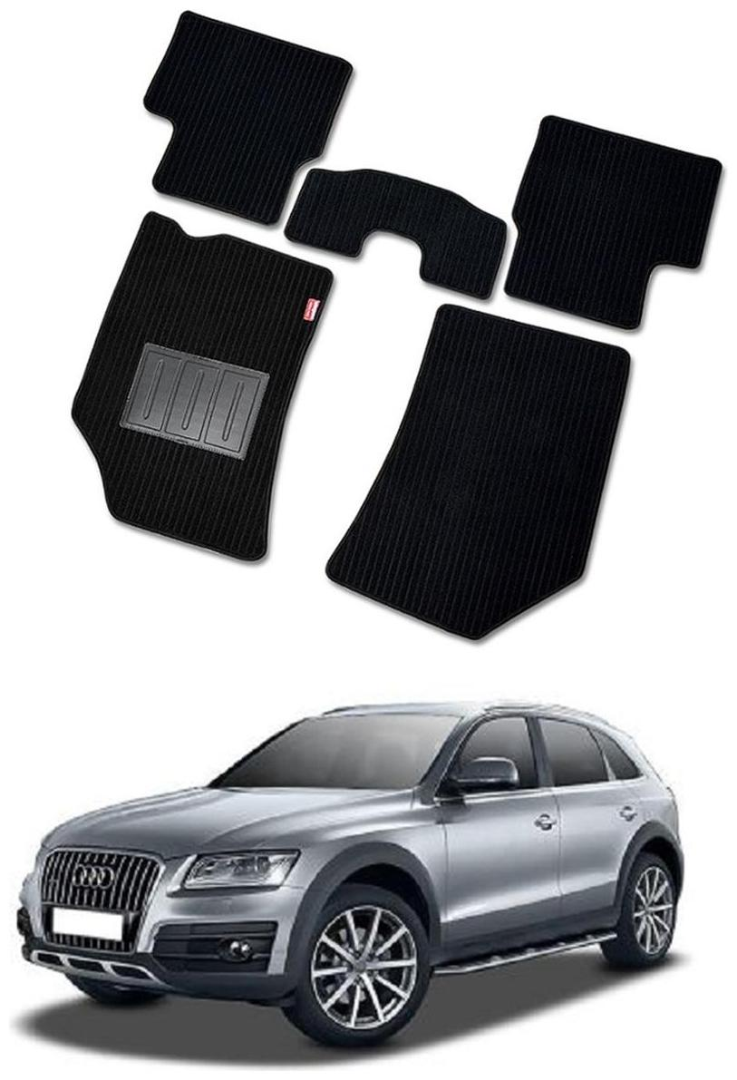 Buy Elegant Cord Black Carpet Car Floor Mat For Audi Q5 2013 2017 Set Of 5 Pc Online At Low Prices In India Paytmmall Com