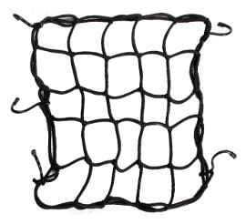 Elegant High Strength Elastic Bungee Cargo Net Black For Honda ACTIVA125