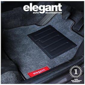 Elegant Jewel Anthra Carpet Car Floor Mat For Linea (Set of 5 Pcs)