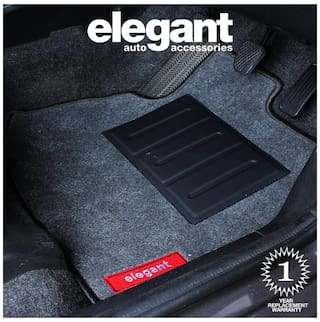 Elegant Jewel Anthra Carpet Car Floor Mat For Maruti Suzuki Swift [2005-2010] - Set of 5 pc