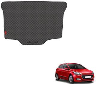 Elegant Magic Black PVC Car Dicky/Boot/Trunk Mats For Hyundai Elite i20
