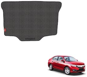 Elegant Magic Black PVC Car Dicky/Boot/Trunk Mats For Honda Amaze (2018)