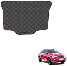 Elegant Magic Black PVC Car Dicky/Boot/Trunk Mats For Renault Triber