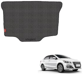 Elegant Magic Black PVC Car Dicky/Boot/Trunk Mats For Maruti Suzuki Ciaz (2018)