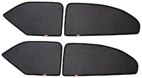 Elegant Magnetic Black Car Sun Shade For Tata Indica (Set of 4 pc)