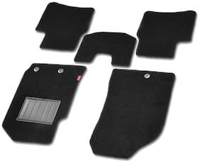 Elegant Miami Beige Car Floor Mat For Toyota Qualis 7 Seater (Set of 4 Pcs)