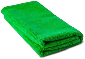 Elegant Microfiber Car Cleaning Cloth Green For Jeep Compass