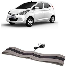 Eon Black&Grey Steering Cover