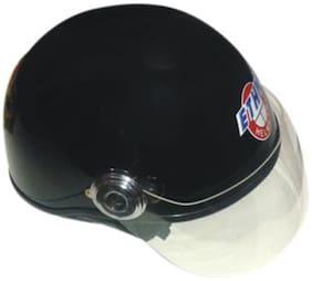 Ethn Helmet Open Face Helmet Black (1 Piece)