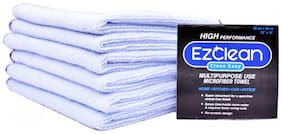 EzClean Microfiber Cleaning Cloth (All Purpose) BLUE (Pack of 6)