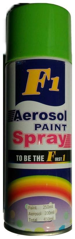 F1 Car Auto Multi Purpose Lacquer Spray Paint Green