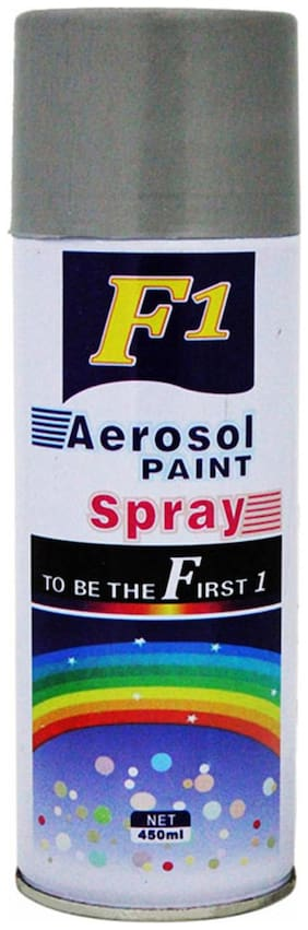 F1 Car Touchup Spray Paint 450ml SILVER-Skoda Superb Type 1 (2004-2010)