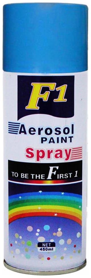 F1 Car Touchup Spray Paint 450 ml - Blue