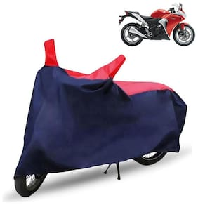 FABTEC Bike/Motorcycle Body Cover For Honda Cbr 250R Red & Blue Cover
